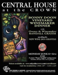 Winemaker Dinner at the Crown & Anchor