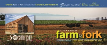 UCSC 5th Annual Farm to Fork Dinner