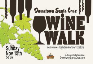 Bonny Doon Vineyard at Downtown Santa Cruz Wine Walk