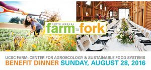 UCSC Farm to Fork Benefit Dinner with Randall Grahm