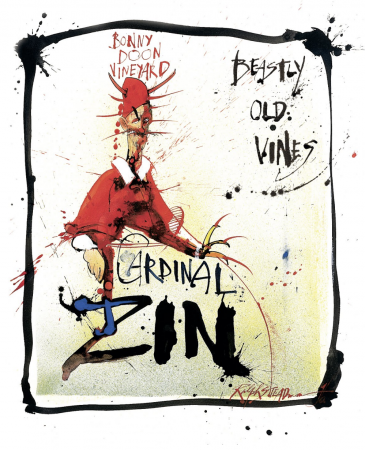 Cardinal Zin label