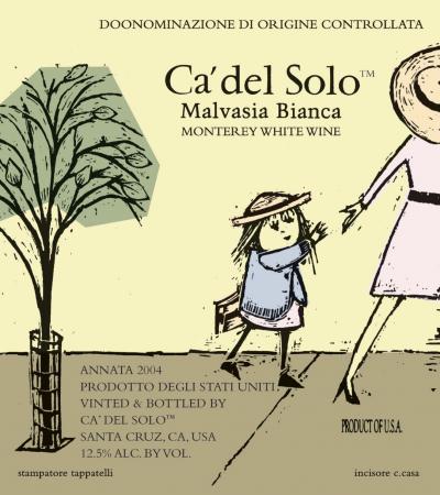Malvasia Bianca label