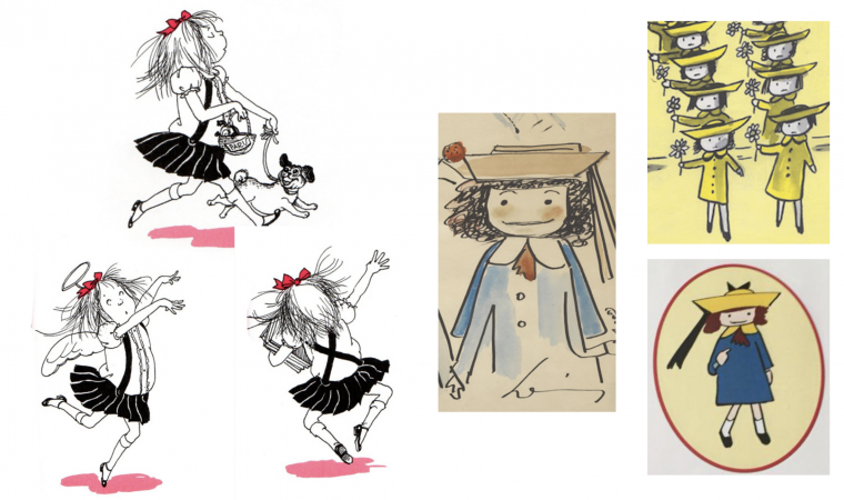 Illustrations from Madeline and Eloise