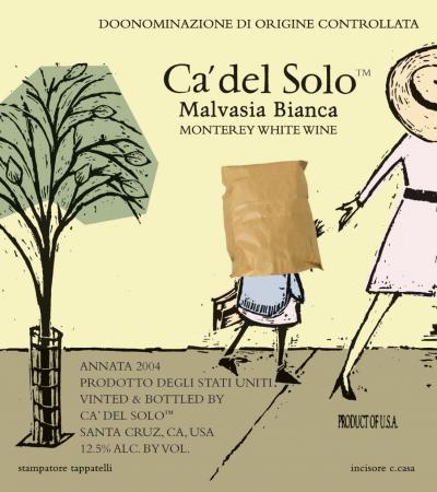 Paper-bag over little Malvasia's head