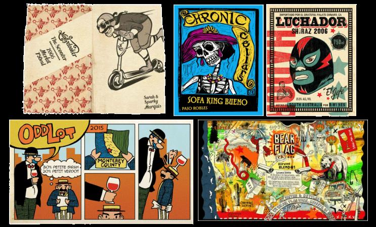 New World comic labels