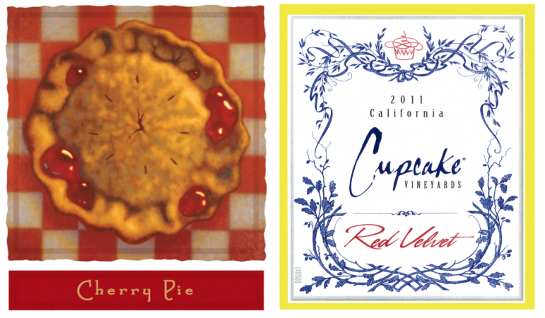 Cherry Pie And Cupcake Labels
