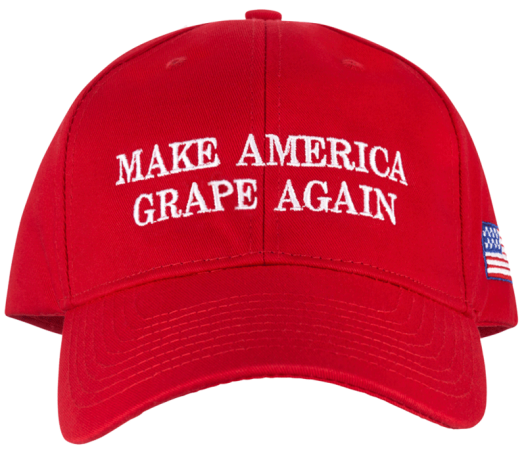 Make America Grape Again baseball cap