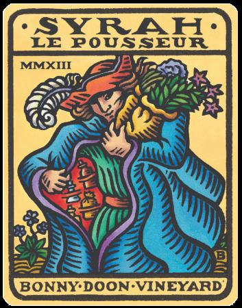 """Syrah, """"Le Pousseur"""""""