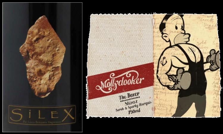 Daguinaux Silex label vs. Molly Dooker label