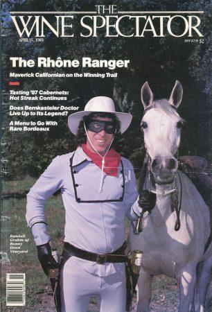 Wine Spectator Rhone Ranger Cover