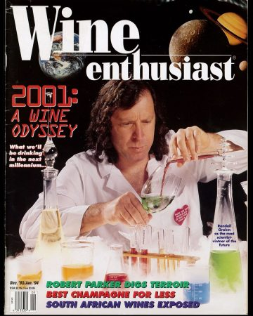 Wine Enthusiast Cover