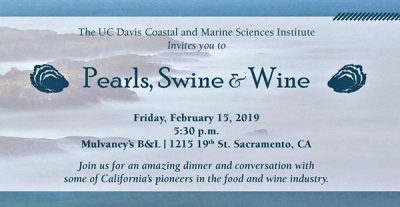 Randall Grahm at Pearls, Swine & Wine – Dinner and Conversation